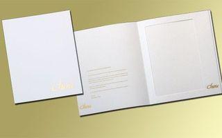 Couvertures à menu en carton plastifié