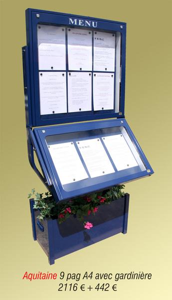 Portemenus Pour Lexterieur ETJ - Porte menu exterieur