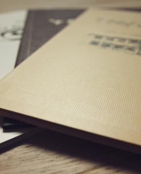 ETJ Printing Service BVBA - Onze producten - Menukaarten in karton
